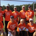 Right at Home softball team